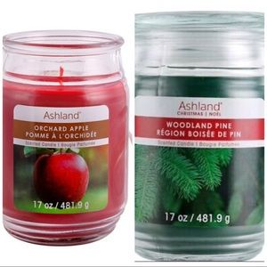 SET OF 2 ASHLAND FALL WINTER CANDLES